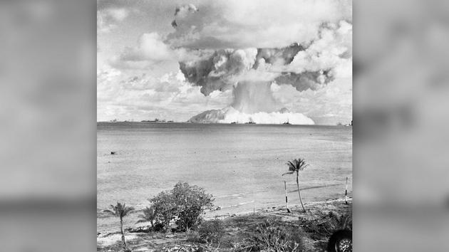 为什么核弹爆炸会形成蘑菇云
